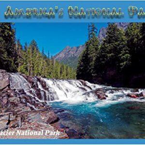 Glacier National Park Red Rock Point Puzzle