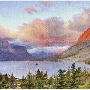 Glacier National Park St Mary Lake Puzzle
