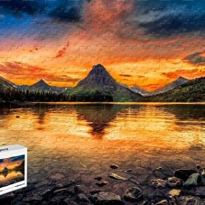 Glacier National Park Two Medicine Lake Puzzle