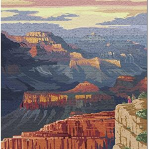 Grand Canyon National Park Mather Point Puzzle