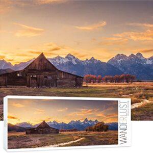 Grand Teton Moulton Barn Puzzle