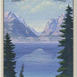 Grand Teton National Park Jenny Lake Jigsaw Puzzle