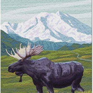 Grand Teton National Park Moose Puzzle