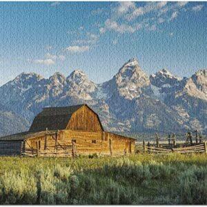 Grand Teton National Park Mormon Row Barn Puzzle