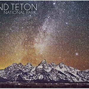Grand Teton National Park Night Puzzle