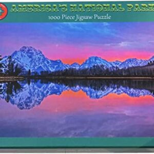 Grand Teton National Park Oxbow Bend Jigsaw Puzzle