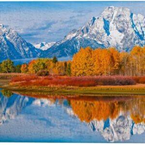 Grand Teton National Park Oxbow Bend Puzzle