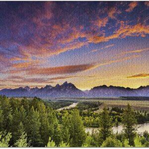 Grand Teton National Park Snake River Puzzle