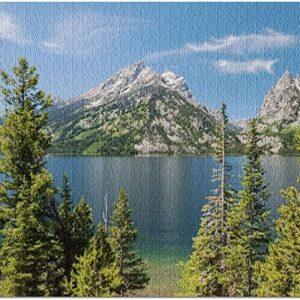 Grand Teton National Park Wyoming Jenny Lake Puzzle