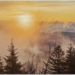 Great Smoky Mountains Clingmans Dome Puzzle