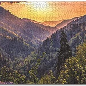 Great Smoky Mountains National Park 1000 Piece Jigsaw Puzzle