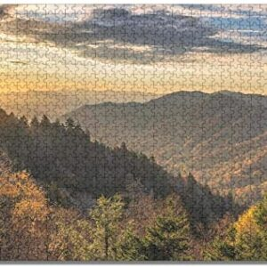 Great Smoky Mountains National Park Jigsaw Puzzle For Adults
