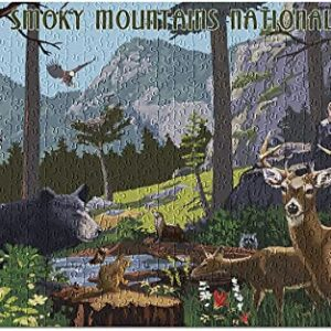 Great Smoky Mountains National Park Wildlife Puzzle