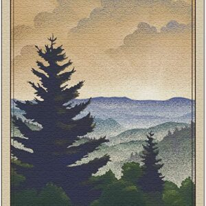 Great Smoky Mountains Newfound Gap Puzzle