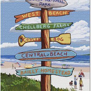 Indiana Dunes National Park Indiana Signpost Puzzle