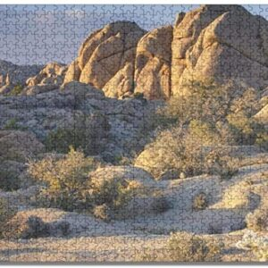 Joshua Tree National Park California Boulders Jigsaw Puzzle
