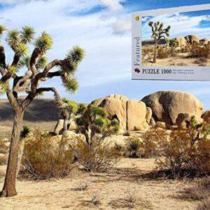 Joshua Tree National Park California Landscape Jigsaw Puzzle