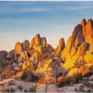 Joshua Tree National Park Desert Boulders Puzzle