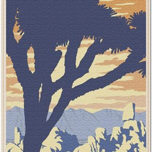 Joshua Tree National Park Iconic Lithograph Puzzle