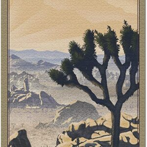 Joshua Tree National Park Lithograph Puzzle
