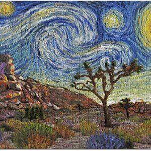 Joshua Tree National Park Starry Night Jigsaw Puzzle