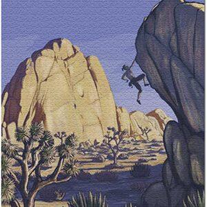 Joshua Tree Rock Climber Puzzle