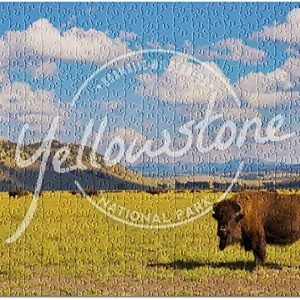 Large Yellowstone National Park Bison Jigsaw Puzzle