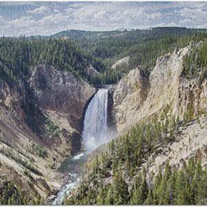 Lower Yellowstone Falls And Canyon Puzzle