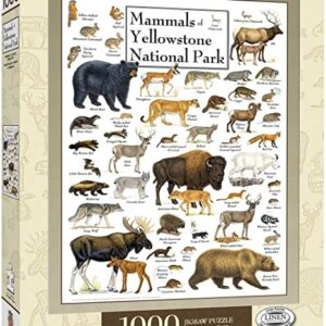 Mammals Of Yellowstone National Park Jigsaw Puzzle