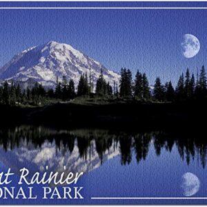 Mount Rainier National Park Moon Puzzle
