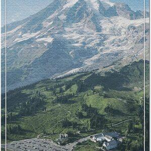 Mount Rainier National Park Paradise Valley Puzzle