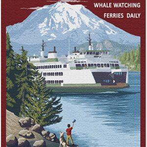 Mount Rainier Puget Sound Puzzle