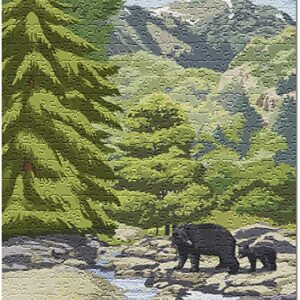 Olympic National Park Black Bears Puzzle