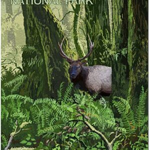 Olympic National Park Elk Puzzle