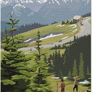 Olympic National Park Washington Hurricane Ridge Puzzle