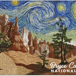Press Bryce Canyon National Park Starry Night Puzzle