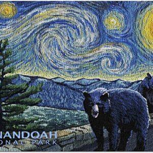 Press Shenandoah National Park Starry Night Puzzle