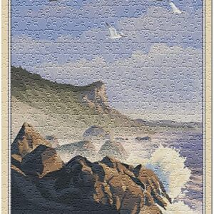 Redwood National And State Parks Lithographs Puzzle