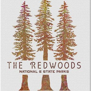 Redwood National And State Parks Tree Puzzle