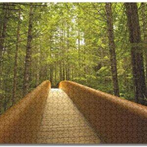 Redwood National Park Walking Bridge Puzzle