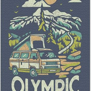 Retro Olympic National Park Puzzle