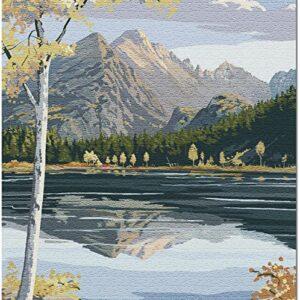 Rocky Mountain National Park Bear Lake Puzzle