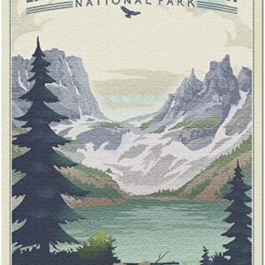 Rocky Mountain National Park Lithograph Puzzle