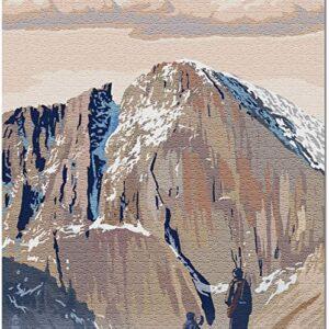 Rocky Mountain National Park Longs Peak Puzzle