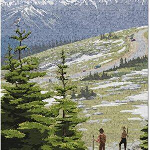 Rocky Mountain National Park Trail Ridge Road Puzzle