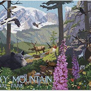 Rocky Mountain National Park Wildlife Puzzle