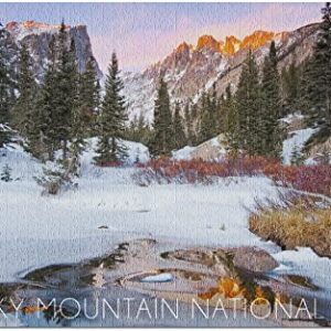 Rocky Mountain National Park Winter Snow Puzzle