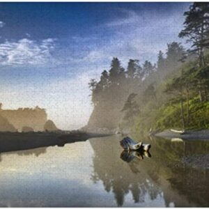 Ruby Beach Olympic National Park Puzzle