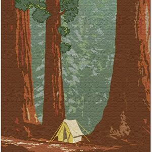 Sequoia National Park Caming Jigsaw Puzzle