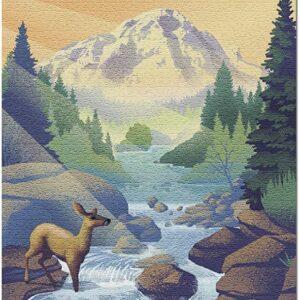 Sequoia National Park Kaweah River Puzzle